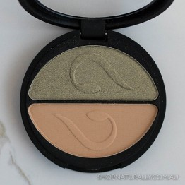 Inika Pressed Mineral Eye Shadow Duo 3.9g - Khaki Desert