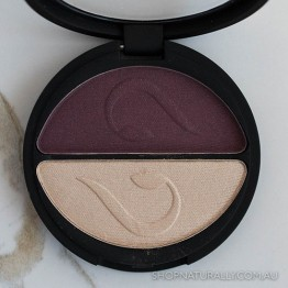 Inika Pressed Mineral Eye Shadow Duo 3.9g - Plum & Pearl