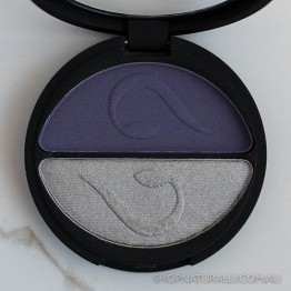 Inika Pressed Mineral Eye Shadow Duo 3.9g - Purple Platinum