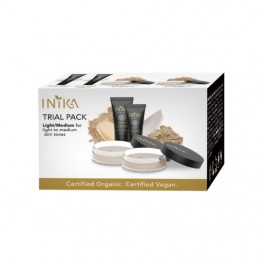 Inika Foundation Trial Pack - Light / Medium