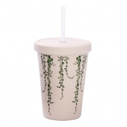 IS Gift eCup Bamboo Smoothie Cup - 500ml Vines