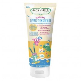 Jack n Jill Natural Sunscreen for Babies & Kids SPF30 - 100g