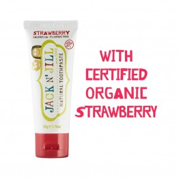 Jack n Jill Natural Kids Toothpaste - 50g Strawberry