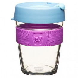 Keep Cup Brew Glass Coffee Cup - 12oz (340ml) Lavender