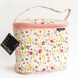 Keep Leaf Insulated Lunch Bag - Tall Oval - Bloom