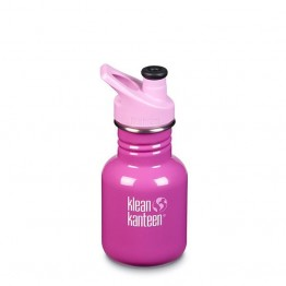 Klean Kanteen Classic Kids Water Bottle 355ml / 12oz - Bubble Gum