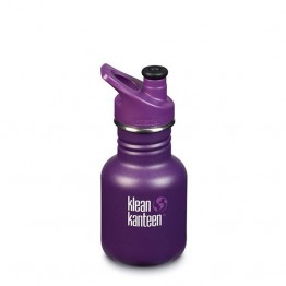 Klean Kanteen Classic Kids Water Bottle 355ml / 12oz - Grape Jelly