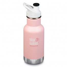 Klean Kanteen Classic Insulated Kids Water Bottle 355ml / 12oz - Ballet Slipper