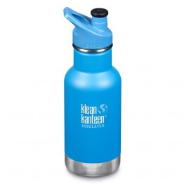 Klean Kanteen Classic Insulated Kids Water Bottle 355ml / 12oz - Pool Party