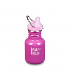 Klean Kanteen Classic Kids Sippy Bottle 355ml / 12oz - Bubble Gum
