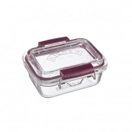 Kilner Fresh Storage Glass Lunch Box - 350ml Rectangle