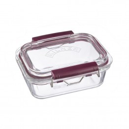 Kilner Fresh Storage Glass Lunch Box - 600ml Rectangle