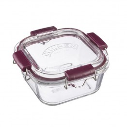 Kilner Fresh Storage Glass Lunch Box - 750ml Square