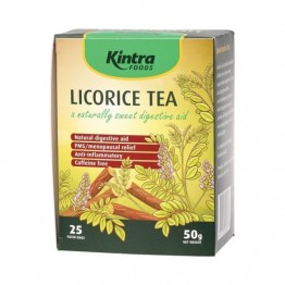 Kintra Foods Tea Bags - Licorice Tea 25 bags