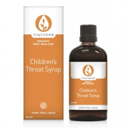 KiwiHerb Children's Throat Syrup - 100ml