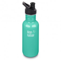 Klean Kanteen Classic Stainless Steel Water Bottle - 532ml / 18oz Sea Crest