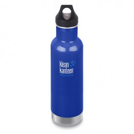 Klean Kanteen Classic Insulated Water Bottle 592ml / 20oz - Coastal Waters