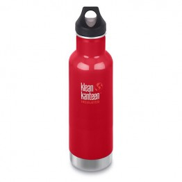 Klean Kanteen Classic Insulated Water Bottle 592ml / 20oz - Mineral Red