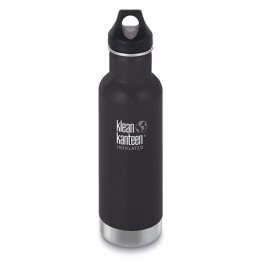 Klean Kanteen Classic Insulated Water Bottle 592ml / 20oz - Shale Black