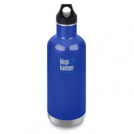 Klean Kanteen Classic Insulated Water Bottle 946ml / 32oz - Coastal Waters