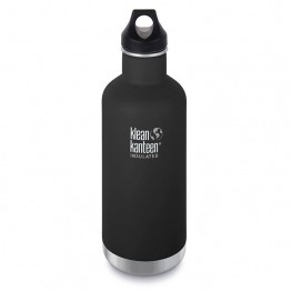 Klean Kanteen Classic Insulated Water Bottle 946ml / 32oz - Shale Black