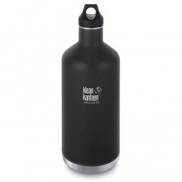 Klean Kanteen Classic Insulated Water Bottle 1900ml / 64oz - Shale Black
