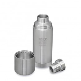 Klean Kanteen TKPro Insulated Flask 25oz / 750ml - Silver
