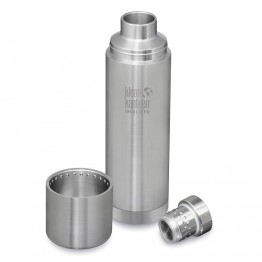 Klean Kanteen TKPro Insulated Flask 32oz / 1 litre - Silver
