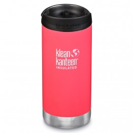 Klean Kanteen TKWide Insulated Bottle with Cafe Cap - 12oz Melon Punch