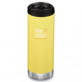 Klean Kanteen TKWide Insulated Bottle with Cafe Cap - 16oz Buttercup