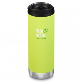 Klean Kanteen TKWide Insulated Bottle with Cafe Cap - 16oz Juicy Pear