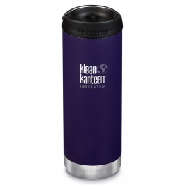 Klean Kanteen TKWide Insulated Bottle with Cafe Cap - 16oz Kalamata