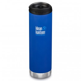 Klean Kanteen TKWide Insulated Bottle with Cafe Cap - 20oz Deep Surf