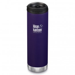 Klean Kanteen TKWide Insulated Bottle with Cafe Cap - 20oz Kalamata