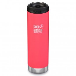 Klean Kanteen TKWide Insulated Bottle with Cafe Cap - 20oz Melon Punch