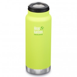 Klean Kanteen TKWide Insulated Bottle with Loop Cap - 32oz Juicy Pear