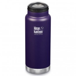 Klean Kanteen TKWide Insulated Bottle with Loop Cap - 32oz Kalamata