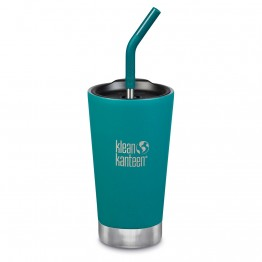 Klean Kanteen Insulated Tumbler with Smoothie Straw Lid - 473ml Emerald Bay