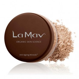 La Mav Anti-Aging Minerals Powder Mineral Foundation with SPF15 8g - Light-medium