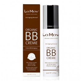 La Mav Anti-Aging Minerals Organic BB Cream - 50ml Medium (original)