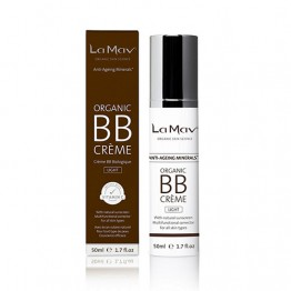 La Mav Anti-Aging Minerals Organic BB Cream - 50ml Light