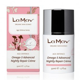 La Mav Organic Omega-3 Advanced Nightly Repair Creme - 50ml