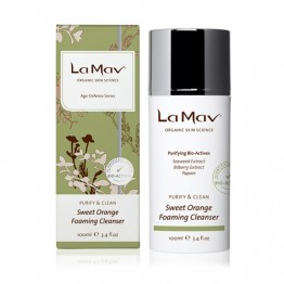 La Mav Organic Sweet Orange Foaming Cleanser - 100ml