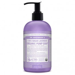 Dr Bronner's Organic Pump Soap 4-In-1 - Sugar Lavender