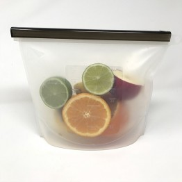 Little Mashies Reusable Silicone Food Storage Bag - 1 litre