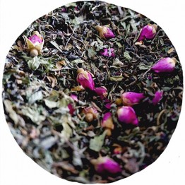 Little Wildling Co Organic Loose Leaf Tea - 100g Pouch - Green Tea Mint & Rose