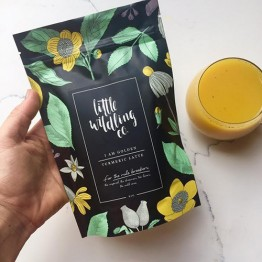 Little Wildling Co Organic Turmeric Latte Tea - 80g Pouch - I Am Golden