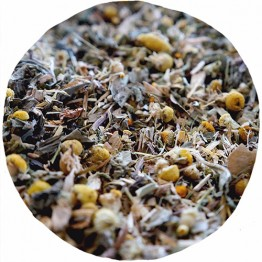 Little Wildling Co Organic Loose Leaf Tea - 100g Tin - I Work Out