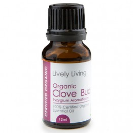 Lively Living Certified Organic Essential Oil - 12ml Clove Bud