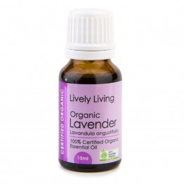 Lively Living Organic Lavender Essential Oil 15ml